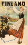 Olavi Vepsäläisen Suomineito-juliste 1948