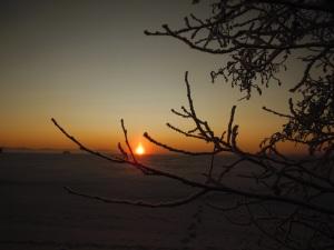 auringonlaskupakkanen