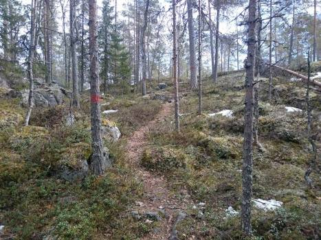 kivinen polku